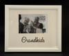 White Grandkids Photo Frame