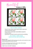 Redoute Rose Set of 4 Coasters