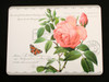 Redoute Rose Place mats Set of 4