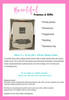 Silver Plated Romanzo 8 x 10 in Photo Frame