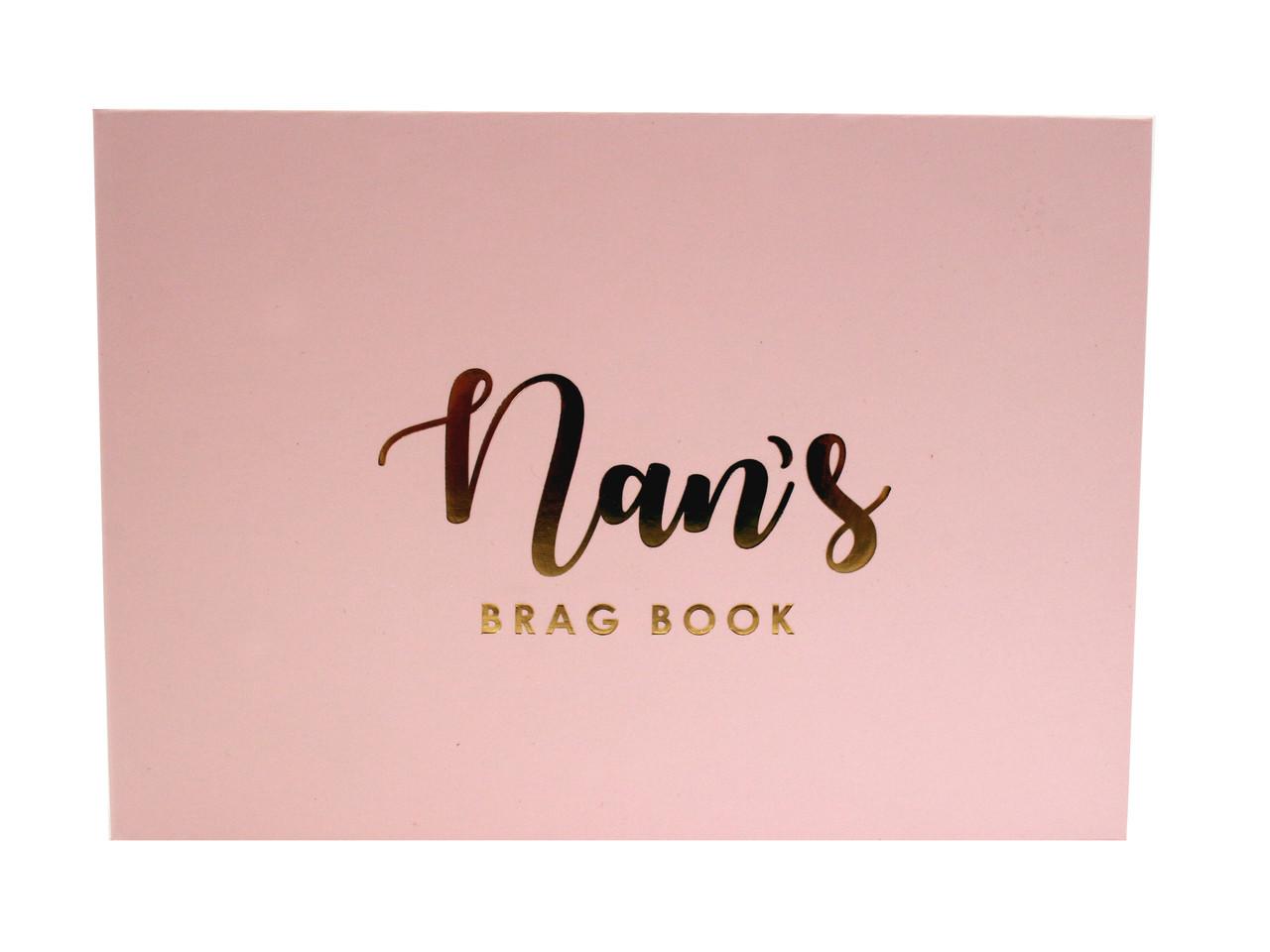 Nans Baby Girl Brag Book Photo Album Beautiful Frames Gifts Store