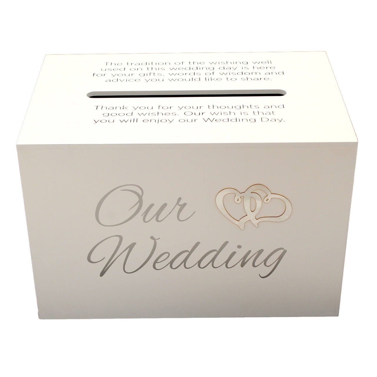 Typical Cash Wedding Gift: Our Wedding Wishing Well Card Holder