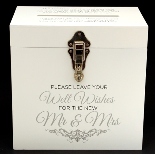 Large Wedding Wishing Well Card Box