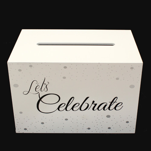 Let's Celebrate Card Box Wishing Well