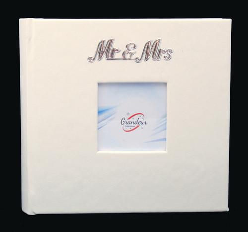 Mr & Mrs Leatherette Photo Album