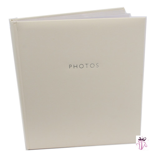500 Photo Slip In Photo Album White