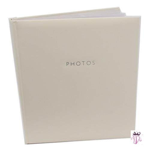 500 Photo Slip In Photo Album White