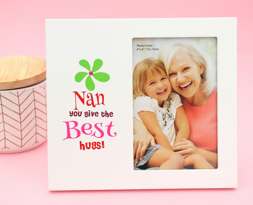 Nan Hugs Photo Frame