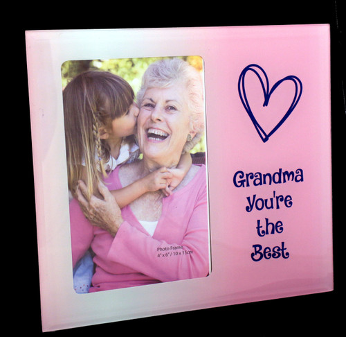 Grandma You're the Best Photo Frame
