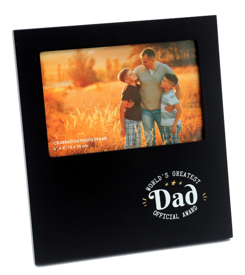 World's Greatest Dad Photo Frame