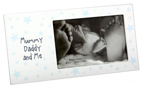 Mummy, Daddy & Me Photo Frame