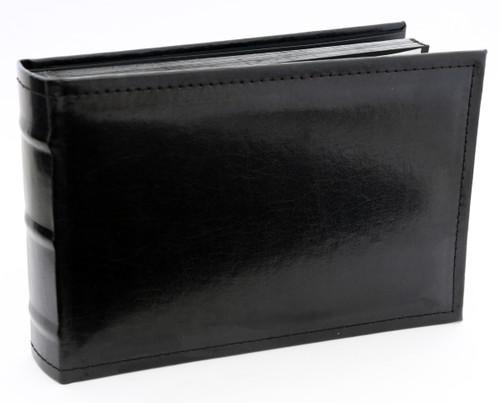 Small Black Leather Dry Mount Photo Album