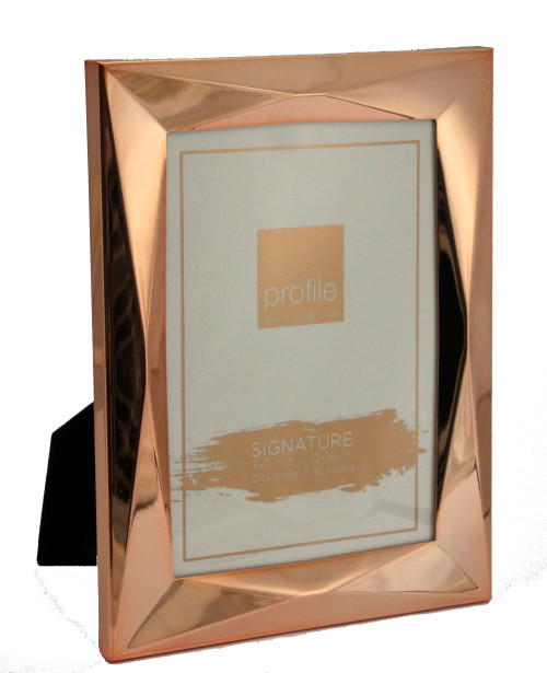 Romanzo Rose Gold 5 x 7 in Photo Frame
