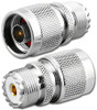 N-Male to UHF-Female SO239 Coaxial Adapter RFA-8613