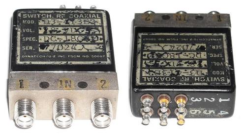 Dynatech D3-413E3 - SPDT Coaxial Switch
