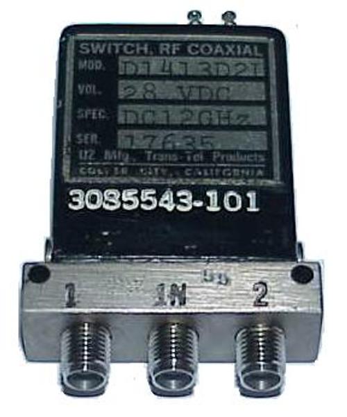 Dynatech D1-413D2-L - SPDT Coaxial Switch
