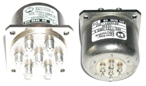 Dow-Key 6010201-003 - SP6T Coaxial Switch Relay