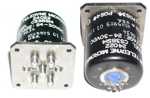 Teledyne CS38S14 - SP4T Coaxial Switch Relay