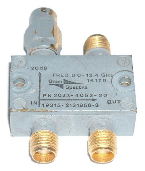 Omni-Spectra 2131856-3 - 20 dB Directional Coupler