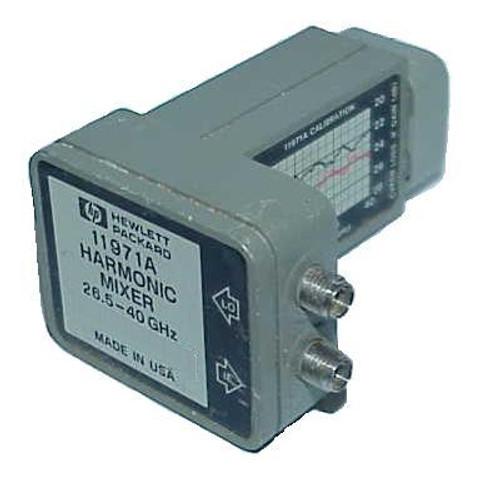 HP-Agilent 11971A Waveguide Harmonic Mixer 8569B Spectrum Analyzer