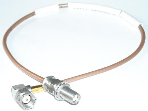 "12"" Long - SMA-Male to SMA-Female RG-316 Coaxial Cable"