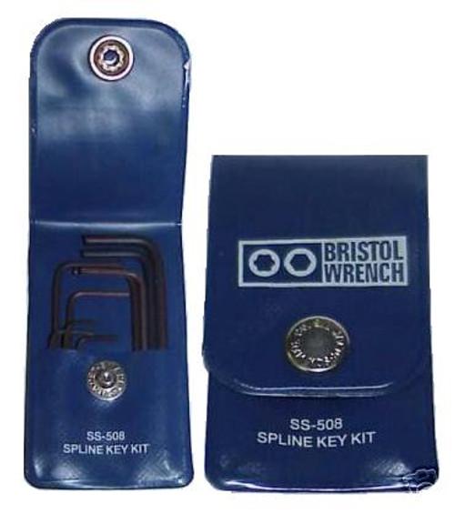 Bristol SS-508 Spline Key Wrench Set - Collins Radios