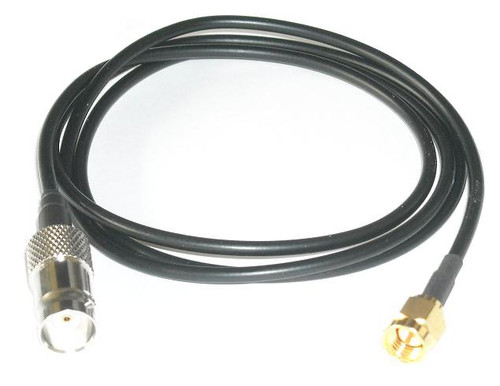 "10"" RG-174 SMA Male BNC Female Coaxial Pigtail"