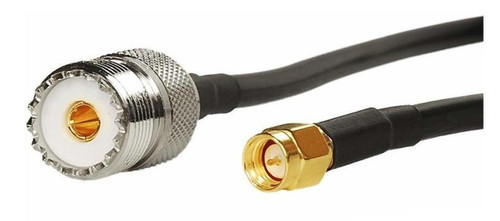 """10"""" Long - SMA Male SO-239 RG-174 Coaxial Cable"""