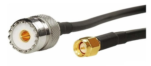 """36"""" Long - SMA-Male UHF-Female Coaxial Pigtail"""