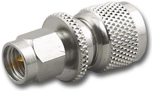 Mini-UHF-Male to SMA-Male Coaxial Adapter RFA-8284