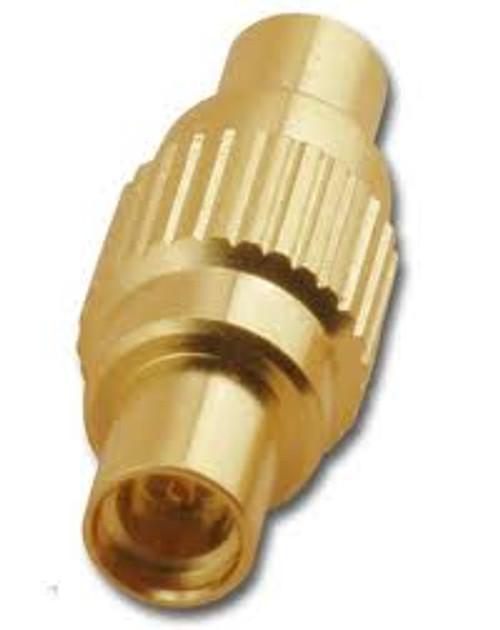 MMCX Double Jack Coaxial Adapter Inline Splice MMC-2199