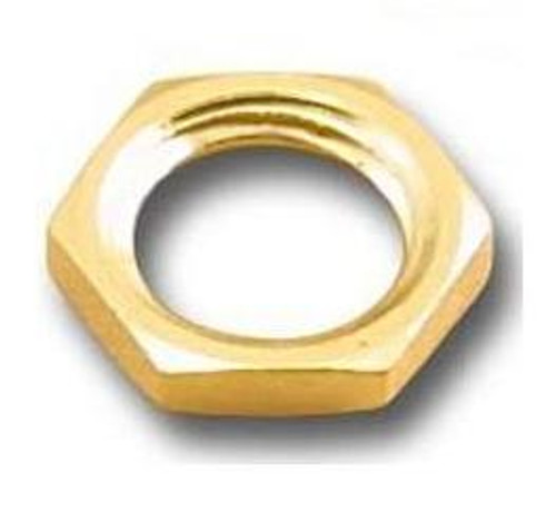 Gold Plated Hex Nut for SMA-Female Connector - 50-Pack