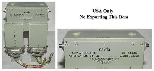 Narda Microwave 69 dB Programmable Step Attenuator DC-18GHz