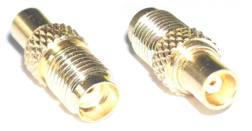 MCX Jack to SMA Female Coaxial Adapter Connector