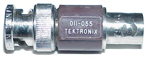 Tektronix 011-055 75-Ohm Feed-Thru Termination 1-Watt