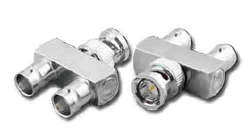 BNC Female-Male-Female 'Y' Coaxial Adapter BNC-7366-75
