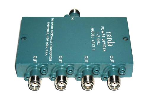 Narda Microwave Model 4312-4 Wilkinson Power Divider