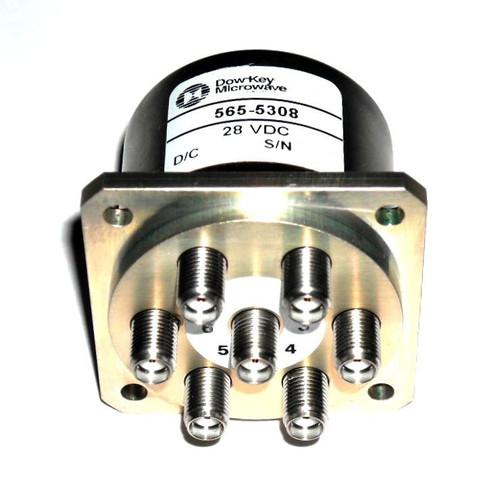 Dow-Key 565-5308 | RF Coaxial Switch | SP6T | DC-18 GHz