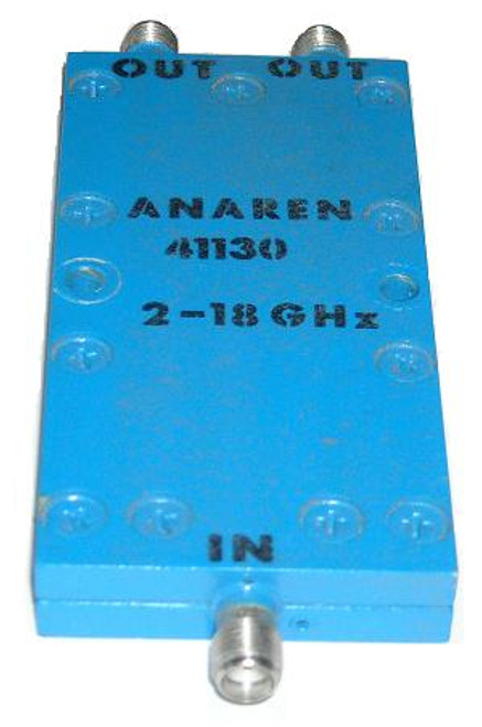 Anaren 2-Way Wilkinson Power Divider DC-18 GHz
