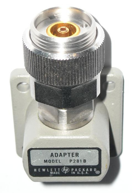 HP Agilent 'P281B' WR62 to APC-7 Waveguide to Coaxial Adapter