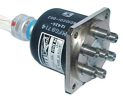 Transco SP6T RF Coaxial Switch Relay DC-18 GHz 28VDC