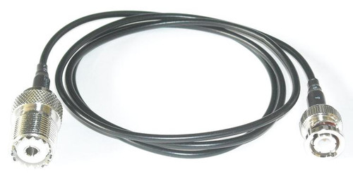 """36"""" RG174 BNC Male SO-239 Coaxial Cable Pigtail"""