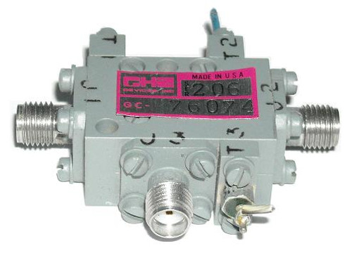 GHz Devices SPST Coaxial Switch