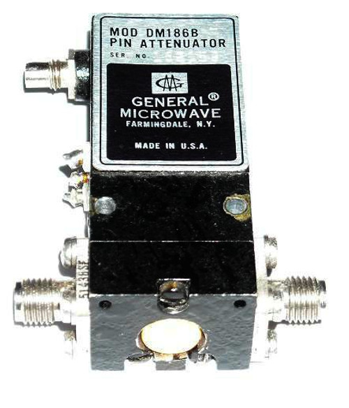 General Microwave DM186BH Coaxial Switch