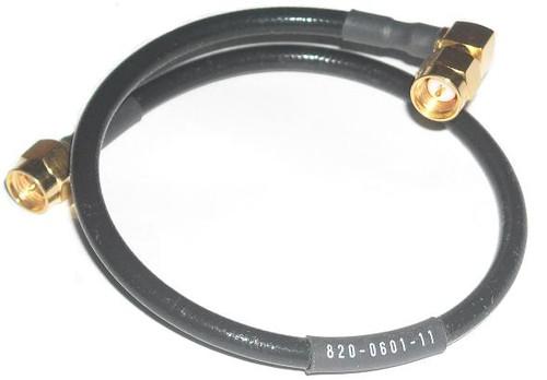 """10"""" Long - SMA to SMA Semiflex RG-402 Coaxial Cable"""