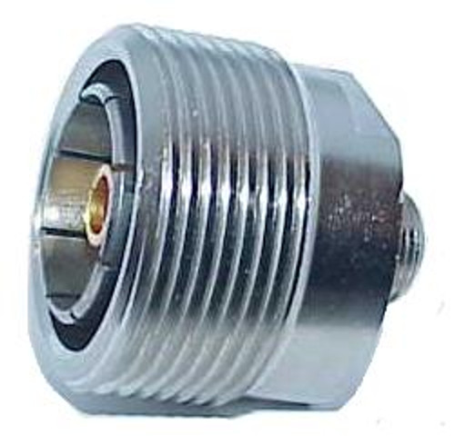 7/16 DIN Female to F-Female Coaxial Adapter