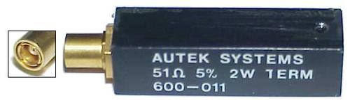 Autek 600-011 - SMB-Plug Coaxial Termination