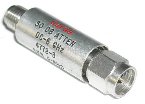 Narda Microwave 4772-3 dB Fixed Coaxial Attenuator