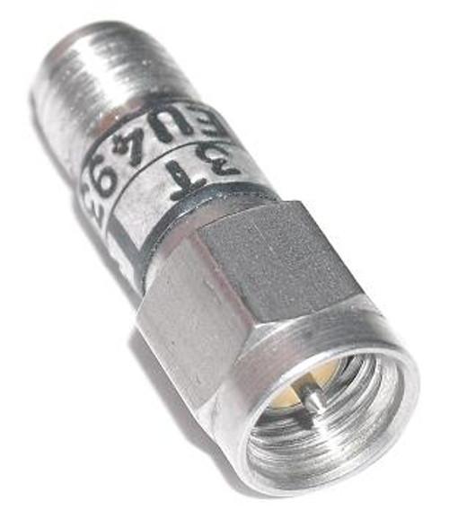 Weinschel 3T-3 dB Fixed Coaxial Attenuator