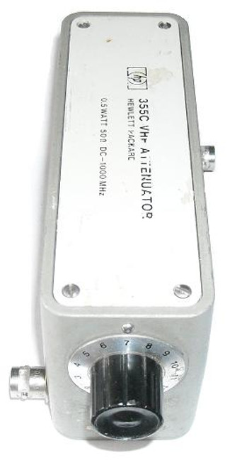 HP-Agilent 355C Step Attenuator DC-1 GHz
